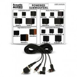 Acoustic Audio PSW600-15 Home Theater Powered 15