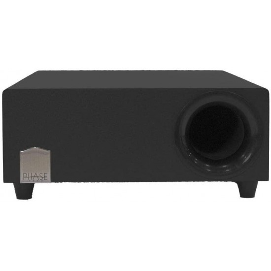 10″ 150W Low Profile Subwoofer Speaker Integrated Amp Home Audio Theater