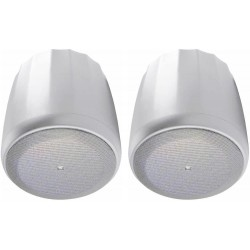 JBL Professional C60PS/T-WH Hanging Pendant Subwoofer with Passive Crossover, White, Sold as Pair
