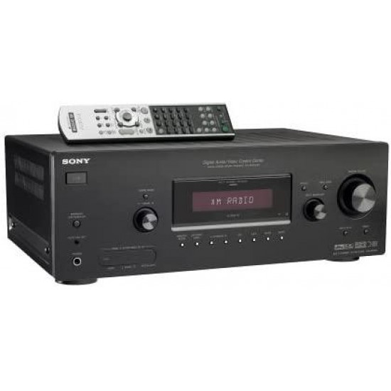 Sony STR-DG600 7.1 Channel Home Theater Receiver with XM Connect-and-Play (Discontinued by Manufacturer),Black